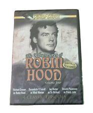 THE ADVENTURES OF ROBIN HOOD VOLUME 4 BRAND NEW (FACTORY SEALED) BLACK & WHITE