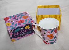 Ashdene by Lauren O'Brien Blossom Bee 250ml Flare Bone China Mug New Gift