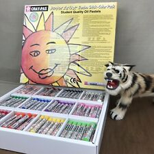 Sakura Cray-Pas Junior Artist Oil Pastels 288 Stick Jumbo Color Pack Classroom