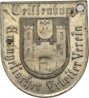 LANZ WALLFAHRT BAYERN WEIßENBURG WAPPEN EVANGELISCHER ARBEITERVEREIN 1899 ØTEZ94