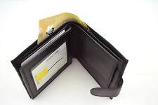 MEN'S WALLET GENUINE LEATHER CARD SLOT ID HOLDER COIN POCKET
