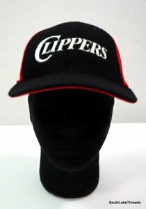 Vintage Nike LA Clippers NBA 83' Rewind Hat Sz Small Flexfit