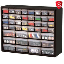 Tool Organizer Box Cabinet Drawer Hardware Craft Screws Bolts Nuts Storage Boxes