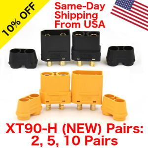 Lot of Amass XT90H Connector Male Female w/ Protective Cover RC Battery