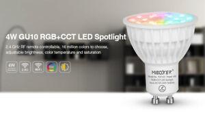 Mi Light fut103 4W GU10 LED RGB CCT inkl. Fernbedienung fut089 miboxer