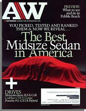 Autoweek - 2010, August 2 - Which Is The Best Midsized Sedan in America?