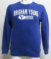 BYU Brigham Young Cougars Men's STARTER Sweatshirt NCAA Blue L