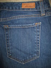 EDDIE BAUER Natural Fit Straight Stretch Dark Denim Jeans Womens Size 10 L x 34
