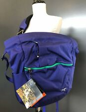 NWT Arc'teryx Mistral 16 L Side Pack Purple/Squid Ink Messenger/Travel Bag