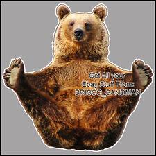 Fridge Fun Refrigerator Magnet FLASHING BEAR -Specialty Die-Cut - Funny