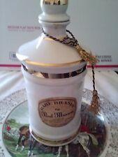 Paul Masson Ceramic Rare Brandy Flask Bottle Spirit. Empty, Original, Stoneware
