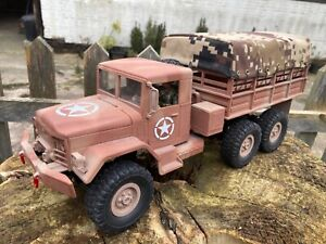 1/16 scale Heng long R/C M35 US army troop 6wd truck customised used