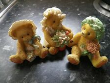 11 X Collectors Cherished Teddies collection some retired