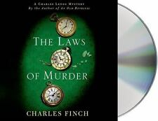 The Laws of Murder: A Charles Lenox Mystery (Finch, C. 8 CD 2014 Unabridged) NEW