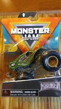2021 Spin Master Monster Jam Monster Kraken Arena Favorite Trucks ( Wheelie Bar)