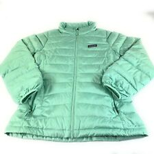 Womens Patagonia Down Sweater Jacket Vjosa Green Size XS $229 EUC