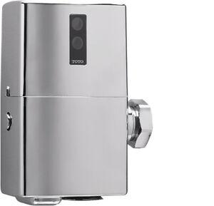 "NEW TOTO TET1GAR #CP EcoPower Automatic Toilet Flush Valve 1.6-GPF Chrome 1"" NPT"