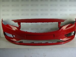 Genuine Bumper Vauxhall ASTRA VK Red Front Bumper p/n 39052730