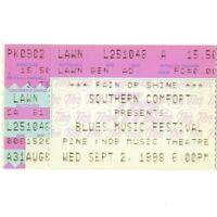 BB KING & DR JOHN & NEVILLE BROTHERS Concert Ticket Stub 9/2/98 CLARKSTON Rare