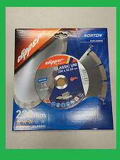 Norton Clipper Diamant Trennscheibe Classic Uni 230 x 22,23 mm Universal