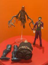 McFarlane toys dc multiverse lot Joker Scarecrow Bane Baff figs Lot