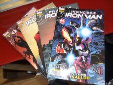 Lotto 4 Iron Man n.42-43-46-47! Nuovi! Panini Comics! Invincibile I.M. 6-7-10-11