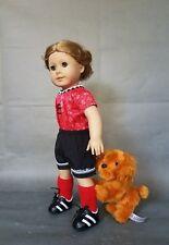 "American Girl Pleasant Company Doll Blonde Hair Green Eyes 18"""