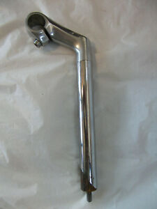 BIKE POLISHED ALLOY & STEEL HANDLEBAR QUILL 25.4mm STEM & CLAMP, 7cm REACH