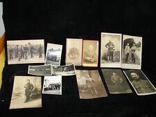 Lot de photo et carte postale de militaire