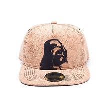 STAR WARS Darth Vader Cork Snapback Baseball Cap One Size Cork/Tan SB039908STW