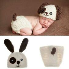 Baby Infant Crochet Photography Props Newborn Photo Costumes Outfits Baby Hat