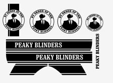 Peaky Blinders Stickers FULL SET Fits Vespa PX Mods Skinshead Scooter Decals ..