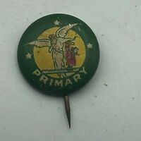 """Vintage Primary Guardian Angel 5/8"""" Button Pin Pinback David C. Cook  S3"""