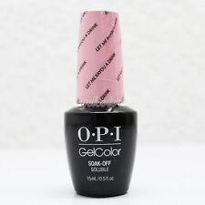 OPI GelColor Soak Off LED/UV Gel Nail Polish 0.5oz Let Me Bayou a Drink #GCN51