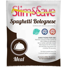 Slim And Save® VLCD / TFR Diet Meal Replacement Spaghetti Bolognese -NE-1SPGBL
