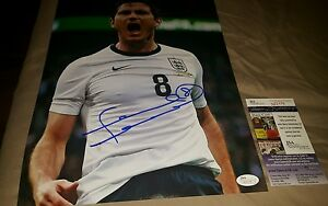 Frank Lampard signed 11x14 #2 Chelsea/England Star JSA CERTIFIED