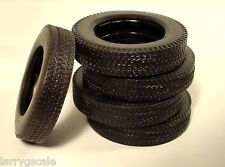 Pliable Treaded Tire Miniatures (5 Pc Set) 1/24 Scale G Diorama Accessory Items