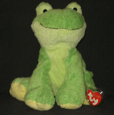 LEAPERS THE FROG - TY PLUFFIES - MINT with MINT TAGS
