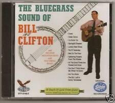 """BILL CLIFTON, CD """"THE BLUEGRASS SOUND OF BILL CLIFTON"""""""