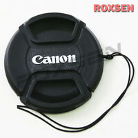 52mm 52 mm Pinch Snap on front lens cap for Canon E-52 II EF EF-S mount lens