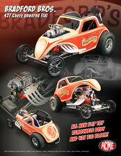 ACME BRADFORD'S ALTERED FIAT CHEVY BIG BLOCK 427 DRAGSTER NHRA DRAG RACING 1:18