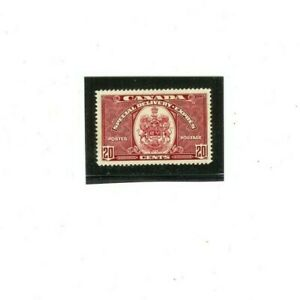 CANADA SPECIAL DELIVERY Stamp # E8  MVLH  (1) F-VF 1938-39 issue  20 cents