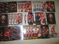 Huge Lot of (27) Chris Osgood Hockey Cards Red Wings with Rookies