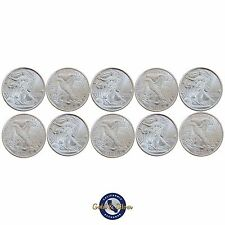 Lot of 10- New 1/10 oz Liberty Design .999 Fine Silver Rounds