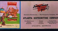 LAWSON WOOD MONKEY BLOTTER WITHHOLDING TAX IRS ~ Atlanta Distributing Company