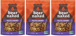 (Pack of 3) Bear Naked Seasonal Blend Salted Caramel Granola - 12 oz