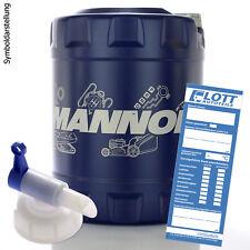 20L Mannol Energy 5W-30 Motorenöl API/SL 5W30 ÖL Motoröl + Hahn für MB VW FORD