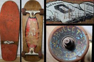 Vtg 90s TOMMY GUERRERO Real Skateboards Tracker Santa Cruz Bullet 66