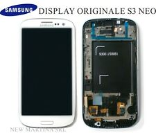 LCD SAMSUNG Galaxy S3 NEO i9301 i9308 TOUCHSCREEN + DISPLAY orig BIANCO no i9300