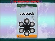 18 x Varta Ecopack Hörgerätebatterien Hörgeräte Batterien PR48 Zinc-Air 13